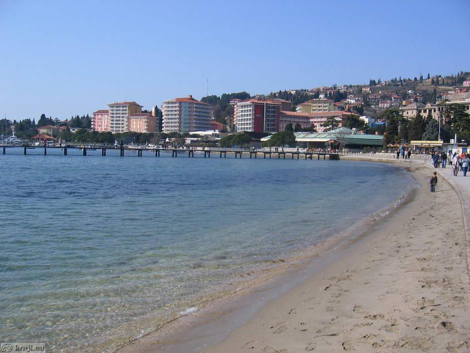 portoroz strand