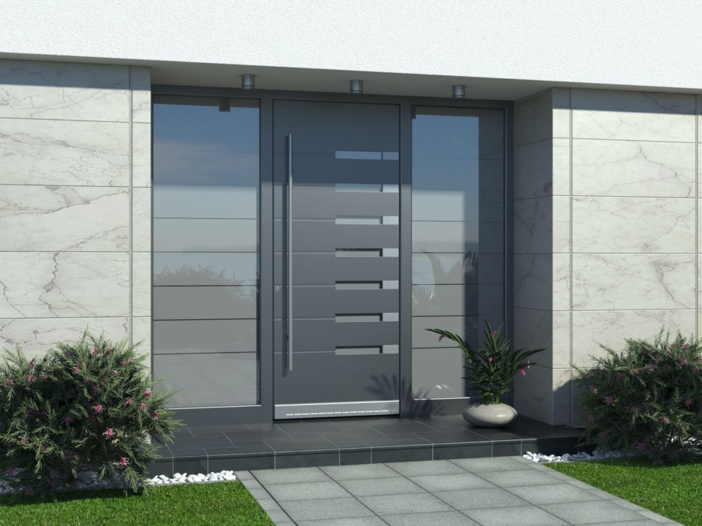 Eingangstüren Aluminium